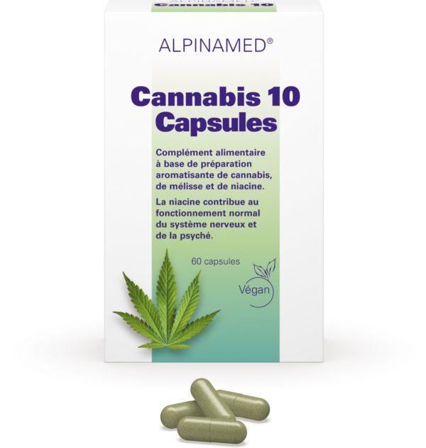 Cannabis 10, Alpinamed®, 60 capsules