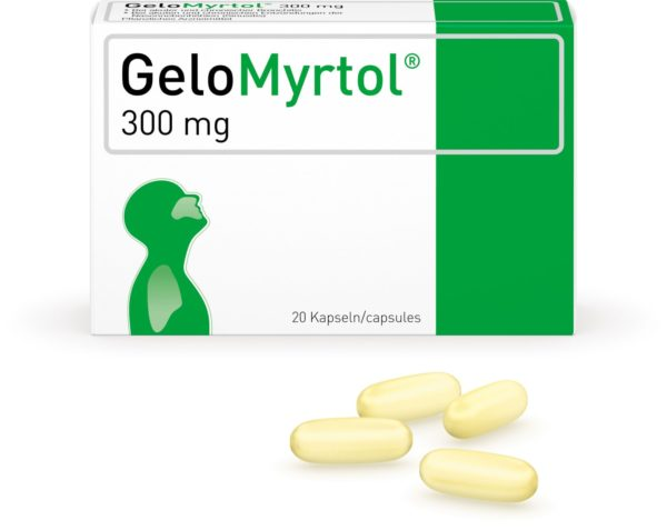 GeloMyrtol®, 300mg, 20 ou 50 capsules