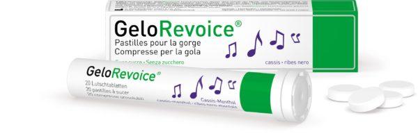 GeloRevoice®, 20 pastilles au cassis pour la gorge