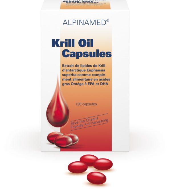 Huile de krill, Alpinamed®, 60 ou 120 capsules