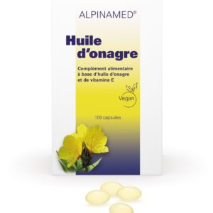 Huile d'onagre, Alpinamed®, 100 capsules