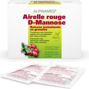 Airelle rouge D-Mannose, Alpinamed®, 20 sachets à 5g
