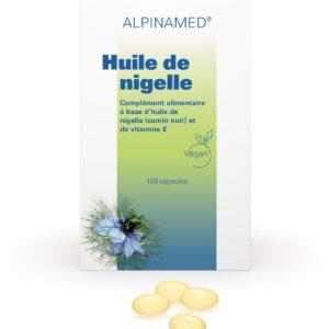 Huile de nigelle, Alpinamed®, 100 capsules